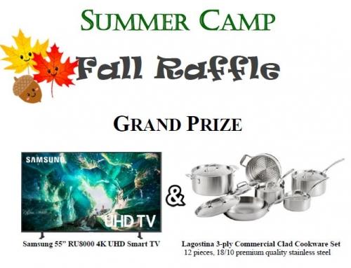 2021 Camp Raffle – Fall Edition